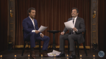 Jimmy Fallon, Matthew McConaughey read script written by Ontario kid