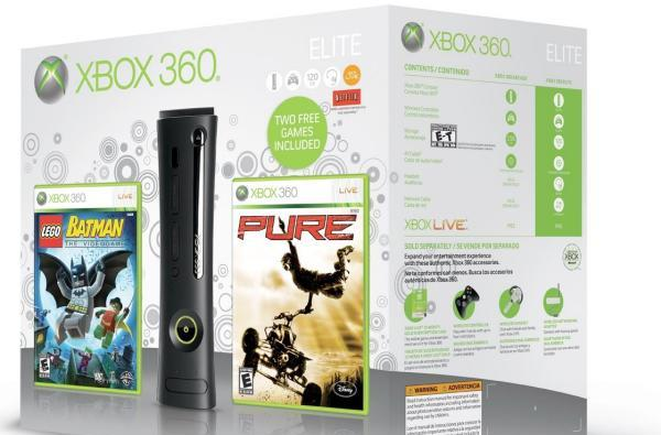 New Xbox 360 Elite holiday bundle and Wireless Controller Game Pack announced