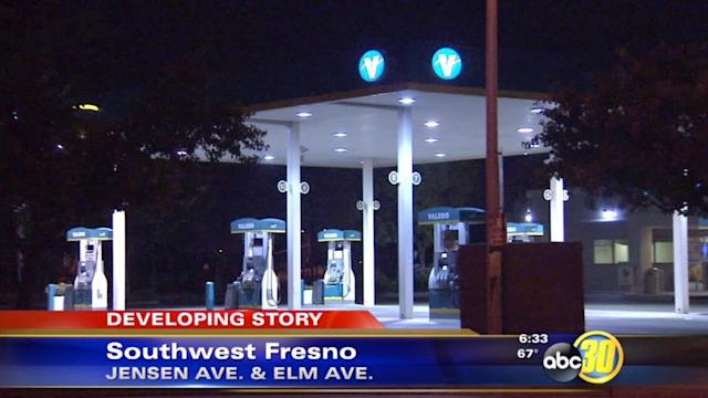 Baby allegedly given to woman at Fresno gas station