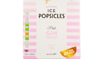 Aldi is now selling pink gin ice lollies, full of actual alcohol