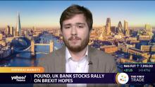 Pound, UK bank stocks rally on Brexit hopes