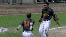Blue Jays prospect dramatically steals home in extra innings to win game