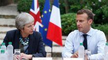 Accord du Brexit: Macron et May y croient