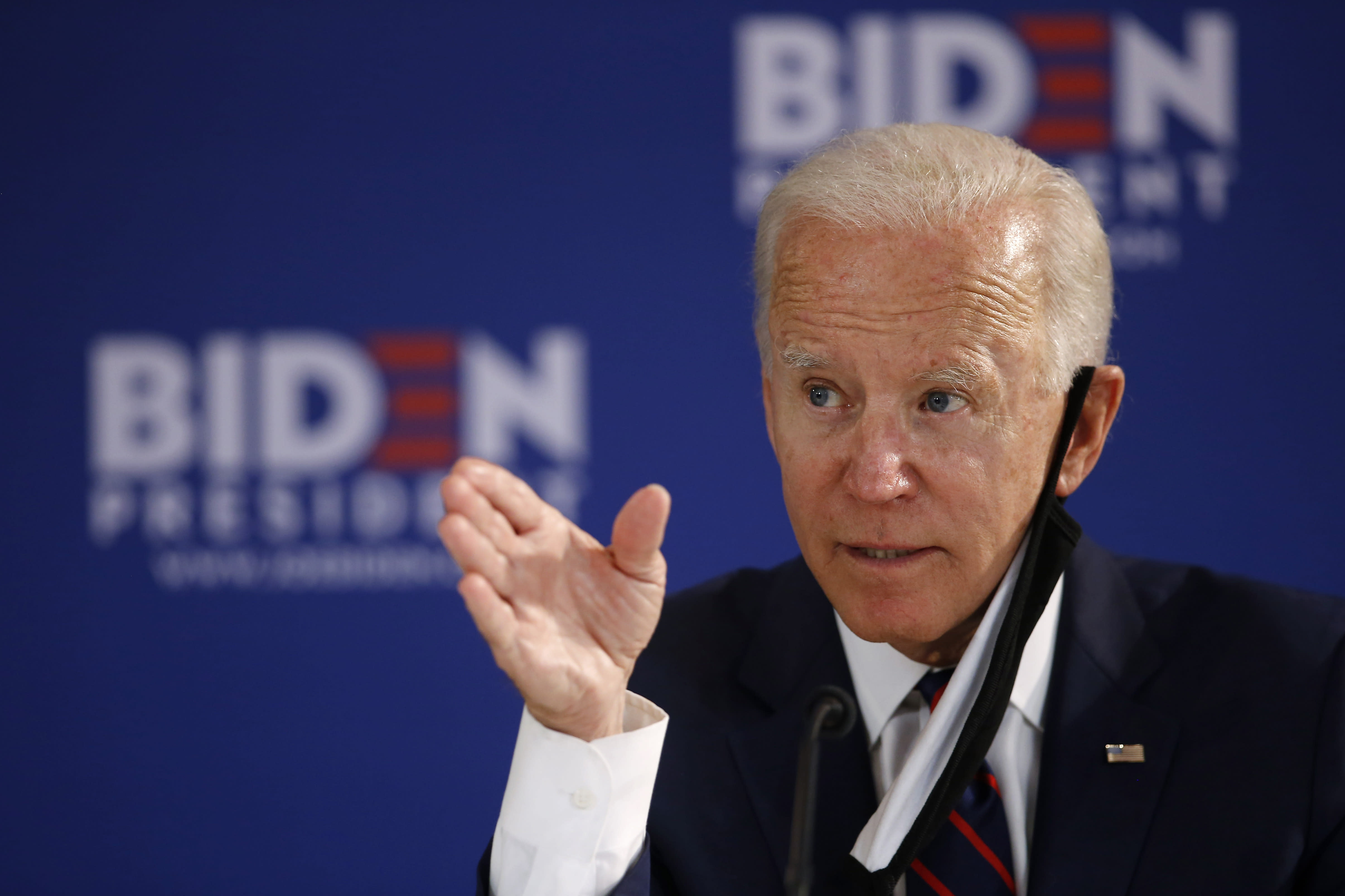 Biden's age might work in his favor