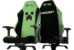 There's now an official 'Minecraft' gaming chair