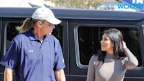 Kim Kardashian Pledges Support for Stepfather Bruce Jenner