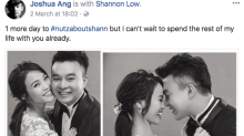 'I Not Stupid' star Joshua Ang is going to be a father