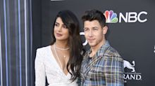 Priyanka Chopra Sparkled in a White Dress Alongside Nick Jonas on the 2019 Billboard Music Awards Red Carpet