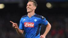 Napoli, occasione Tottenham per Milik: l'agente è a Londra