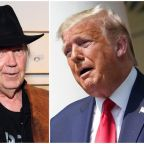 Trump angers Neil Young by using three of his songs at controversial Mount Rushmore event