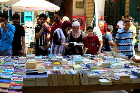 Baghdad book market turns the page on a new Iraq