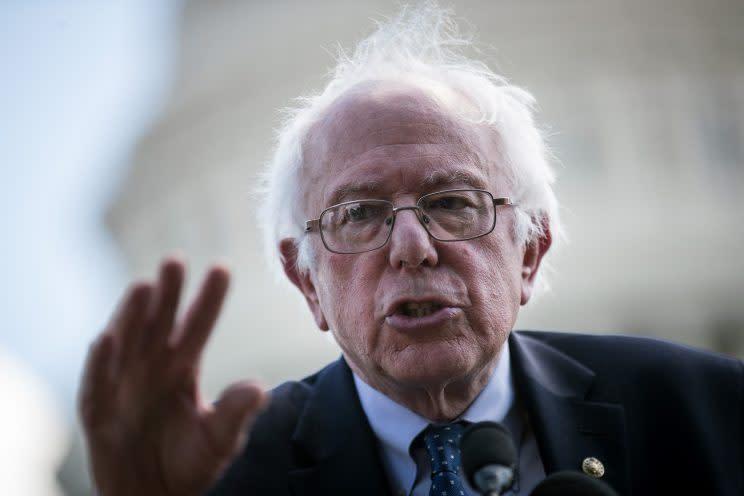 Sen. Bernie Sanders: Trump 'wants to sabotage health care in America'