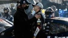 William Byron's playoff hopes end after early contact at Bristol