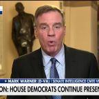 Sen. Mark Warner says he has not decided how he will vote on articles of impeachment against President Trump