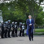 National Guard stormed into a peaceful protest to clear way for Trump photo-op