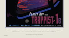 NASA's stunning posters and graphics reveal secrets of newly discovered Trappist-1 solar system