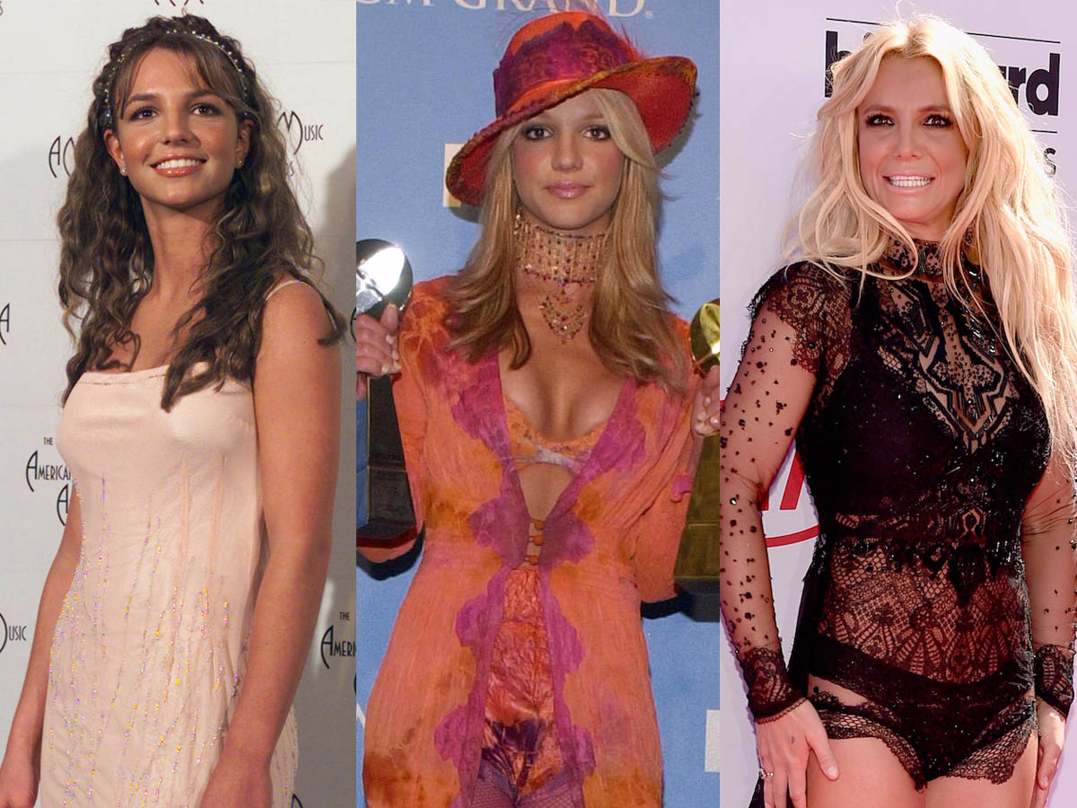38 Photos That Show How Britney Spears Style Has Evolved Through The Years