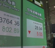 Asian markets mostly rise, following Wall Street's lead