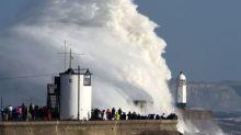 Three dead as Storm Ophelia batters Ireland