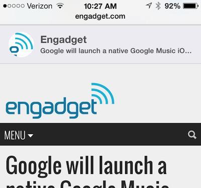 iOS 7 video tip: View tweeted links in Mobile Safari
