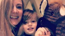 Apresentadora prepara arquivo de lembranças para filho de 3 anos
