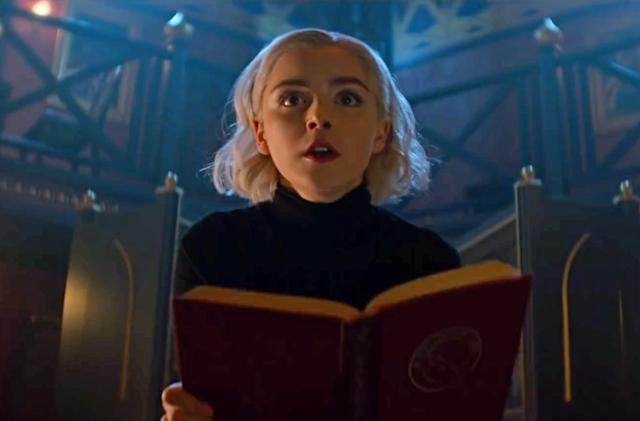 'Chilling Adventures of Sabrina' continues April 5th