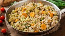 「花椰菜炒飯」減肥餐單!有白飯口感又吃不胖