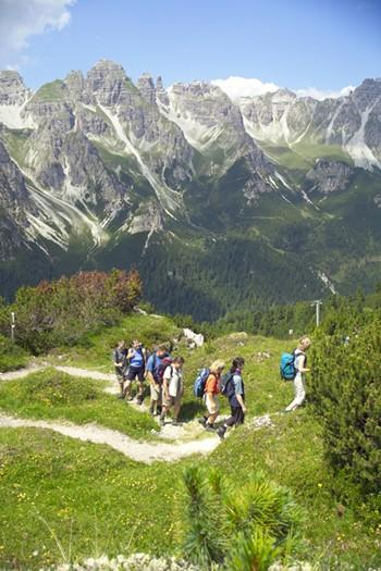 "<p> 	Let your guide lead the way on a walking holiday in the Oetzal Alps in the Austrian Tyrol with <a href=""http://www.hfholidays.co.uk"" target=""_blank"">HF Holidays</a> catching great views of Obergurgl and the Stubenfall waterfall as you go. The break is based at the family run hotel in Solden and there's a range of walks, to suit all abilities, from valley routes to peak paths, led by experienced guides. Seven nights costs £759 per person, including flights, accommodation and the services of the guide.</p>"
