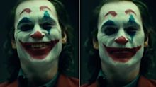 Joaquin Phoenix goes full clown for the first time in new 'Joker' video