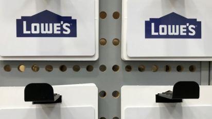 Lowe's quarterly profit more than doubles