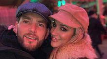 Caroline Flack's boyfriend Lewis Burton denies he's split from the former 'Love Island' presenter