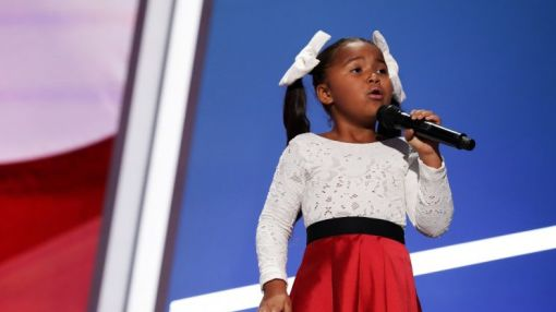6-year-old singer Heavenly Joy a breakout star at the RNC