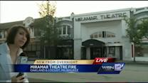 Fire breaks out at Miramar Theatre