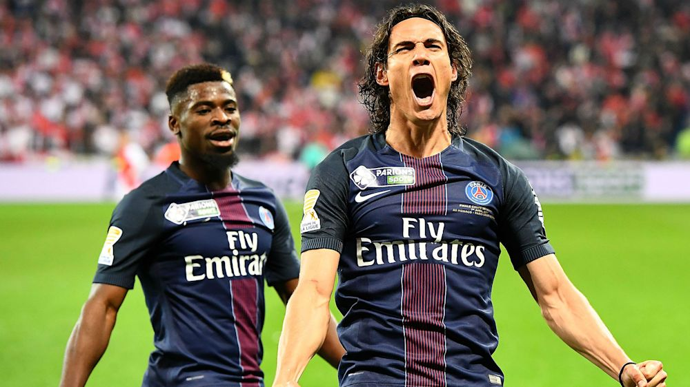 Cavani and Di Maria help PSG make history with Coupe de la Ligue victory