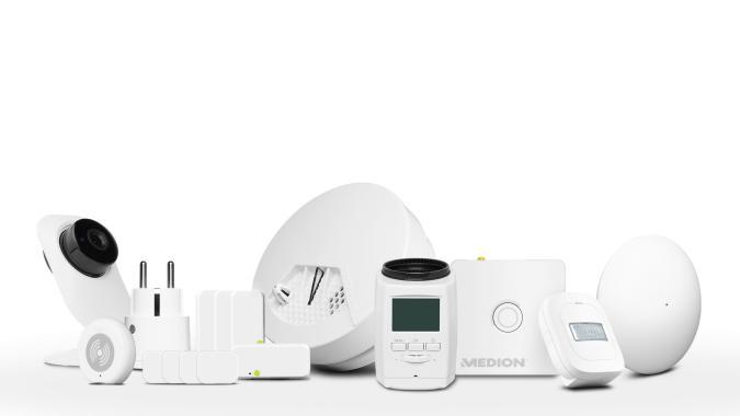Medion startet den Verkauf der eigenen SmartHome-Produkte