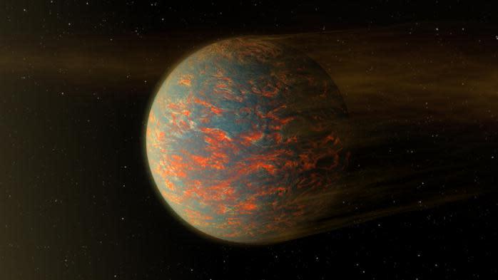 La Nasa découvre une planète recouverte de lave