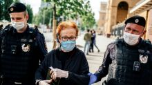 At least 35 detained at Moscow opposition protest