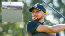 Steph Curry stuns golfing world with outrageous shot