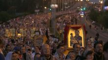Tens of thousands mark 100 years since murder of last Russian tsar