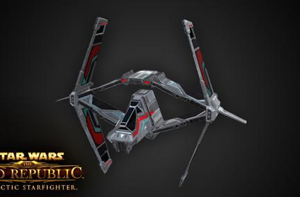 SWTOR's Strike Fighter is kinda like an X-Wing