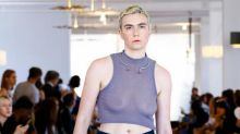 Lena Dunham's Little Sister Freed the Nipple at New York Fashion Week