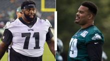 Brandon Brooks confident Jason Peters will be able to play RG