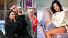 Younes Bendjima Just Trolled His Awful Comment on Kourtney Kardashian's Thong Instagram​
