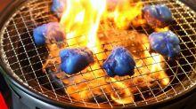 日本京都燒肉店 推出「藍色燒肉」撐國家隊