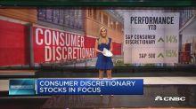 Consumer discretionary stocks in focus