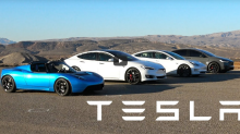 同門較量 − Tesla Model S、Model 3、Model X & Roadster 終極 Drag Race 對決