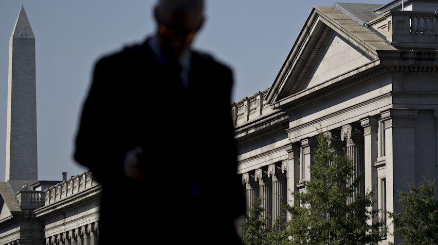 U.S. yield curve inverts for first time since 2007