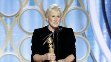 El discurso feminista de Glenn Close pone en pie a los Globos de Oro