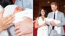 Meghan Markle 'caring' for 'anxious' Prince Harry and baby during photo call
