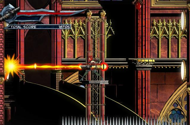 New Bloodrayne: Betrayal screens feature improbable weapons